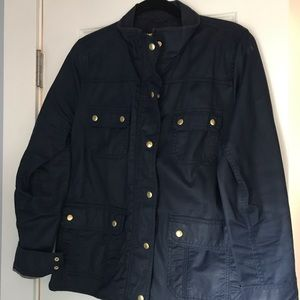 Jcrew military style jacket size L